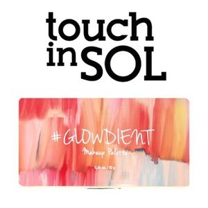 touch in SOL Pretty Filter #GLOWDIENT Makeup Palet
